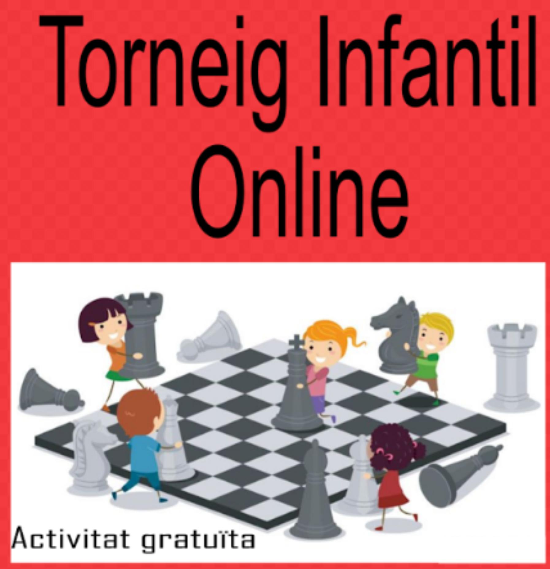 Torneig infantil d'escacs online