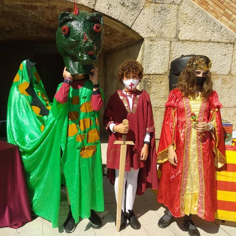 Diada de Sant Jordi al col·legi